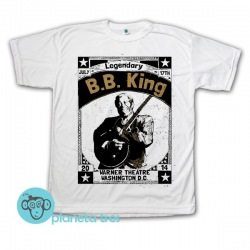 Remera Legendary B.B. King Poster