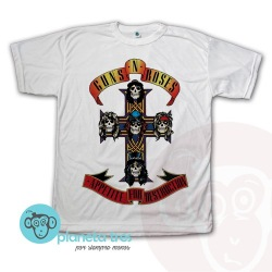Remera Guns N' Roses Logo Appetite for Destruction