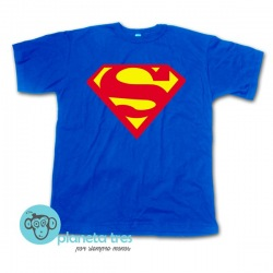 Remera Superman Logo - Remeras de Superhéroes