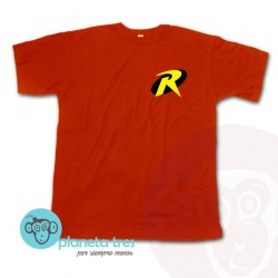 Remera Robin Logo - Remeras de Superhéroes
