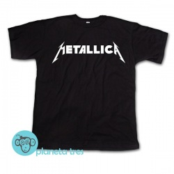 Remera Mettalica Logo - Remeras de Rock