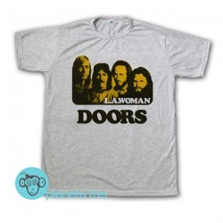 Remera The Doors L.A. Woman - Jim Morrison - Remeras Rock Clásico